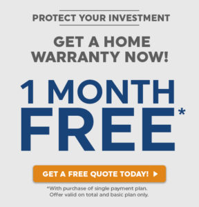 One Month Free Home Warranty